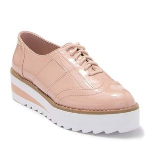 Madden Girl Andria Platform Pink Oxford